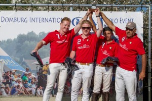 Results: 1e Waalre Polo Team; 2e HV Polo; 3e Hot Conejos; 4e QM Polo